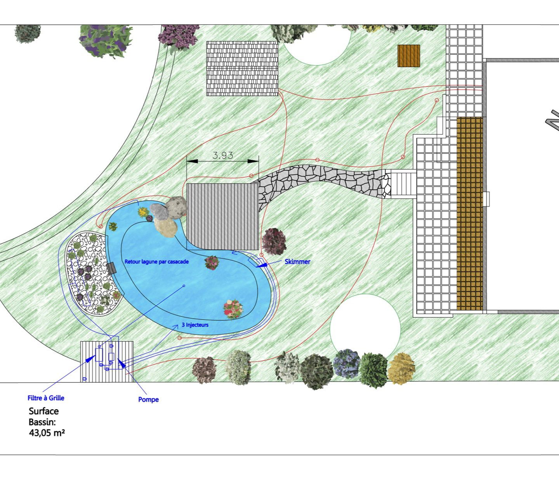 Projet d'étang de baignade en Alsace